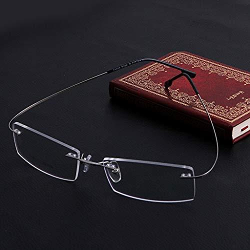 siwetg Mode Metall Randlose Brillen Brillen Rahmen Brillenfassungen