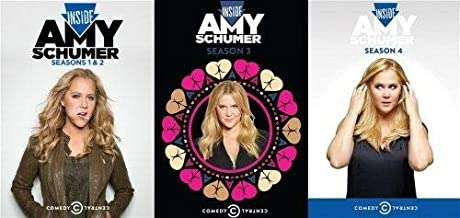 Inside Amy Schumer: The Complete Series DVD Collection - Seasons 1, 2, 3 & 4 [The Complete First, Second, Third and Fourth Season] - Comedy Central