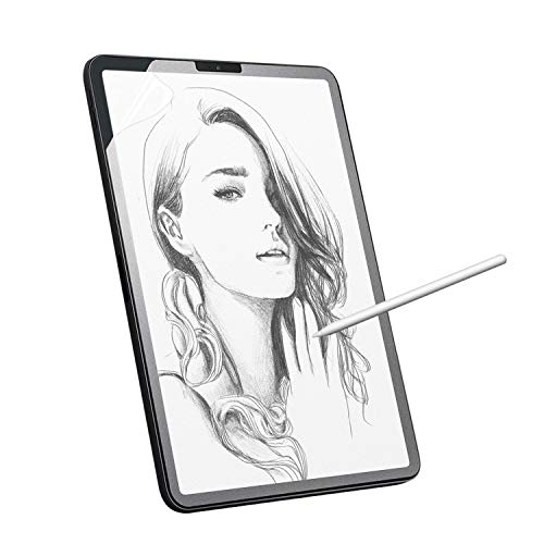 Nillkin Write Like Paper Screen Protector Compatible With iPad Pro 11 inch 3rd & 4th Gen (2018 & 2020),Write, Draw and Sketch with the Apple Pencil Like on Paper PT Matte Screen Protector