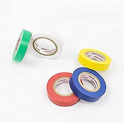 Vinyl Electrical Tape/PVC Electrical Wire Insulating Tape/50ft Length 16mm Wide Each One