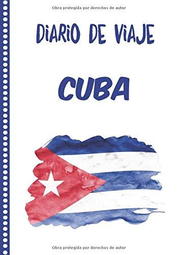 Diario de Viaje Cuba: Cuaderno Diario,Notebook 108 páginas ILUSTRADAS Libro de Actividades de Vacaciones a Rellenar, Libro de Seguimiento de Viajes, Regalo Para Ofrecer. Made in Spain.