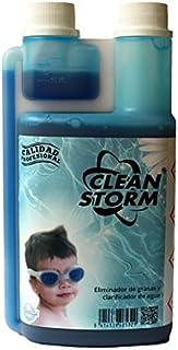 YMBERSA Clean Storm: Clarificador- Floculante y Eliminador de Grasas y Aceites en Piscinas-SPA. Botella de 500 ml con dosificador