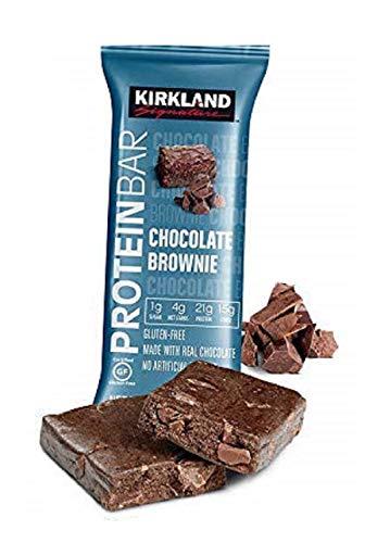 Kirkland Signature Protein Bars Chocolate Brownie 2.12 oz, 20-count