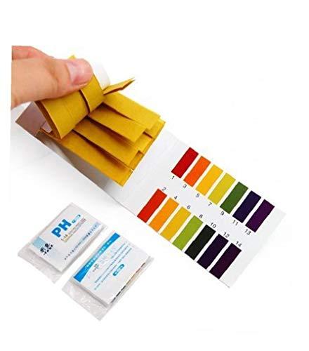 GGOOD 160pcs Ph-testpapier Flüssigbereich 1-14 Ph-Streifen Für Wasser Boden Lackmus-Test Industrieverbrauchsgut