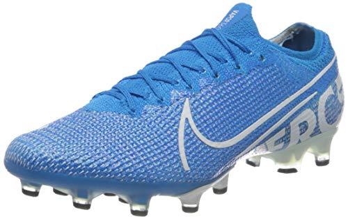 Nike Vapor 13 Elite AG-Pro, Botas de fútbol Unisex Adulto, Multicolor (Blue Hero/White/Volt/Obsidian 414), 41 EU