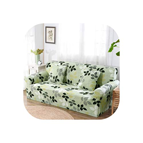 Sofa Cover Tight Wrap All-Inclusive Couch Covers for Living Room Sectional Sofa Cover Love Seat Patio Furniture,Color 7,2-Seater 145-185cm