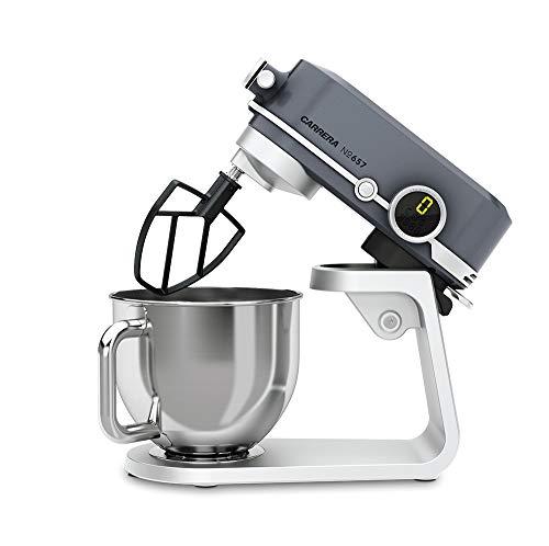 CARRERA Küchenmaschine No 657, Testsieger, 800 Watt, 5l, Edelstahl-Rührschüssel, Planetarisches Rührsystem - 4