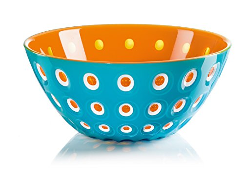 Schaal blauw/wit/oranje 2.70 Ltr Guzzini 279425145 Le Murrine