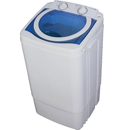 Syntrox Germany A 7 Kg Waschmaschine mit Schleuder /Campingwaschmaschine Mini Waschmaschine
