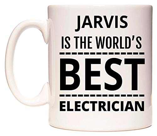 JARVIS Is The World's BEST Electrician Taza por WeDoMugs