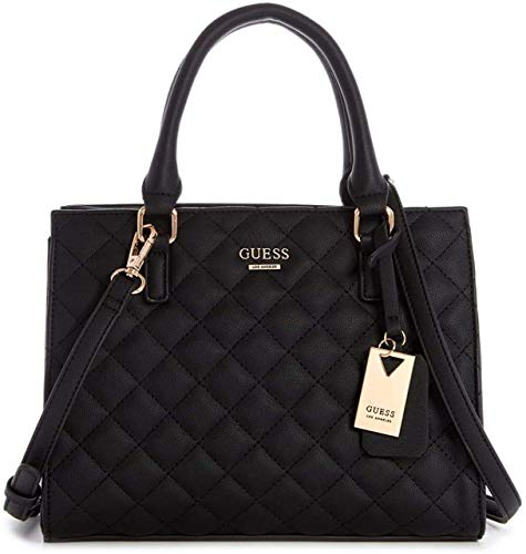 GUESS Factory Maxwell Quilted Satchel