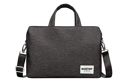 WORTINT Women Laptop Handbags, Work Bag with Shoulder Strap, Office Carrying Bag Professional, Travel Briefcase Waterproof, Shockproof Protective Case for Macbook, Chromebook, Hp Notebooks, etc.
