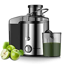 Image of Homeleader Juicer Juice Extractor 3 Speed Centrifugal Juicer with Wide Mouth, for Fruits and Vegetables, BPA-Free: Bestviewsreviews