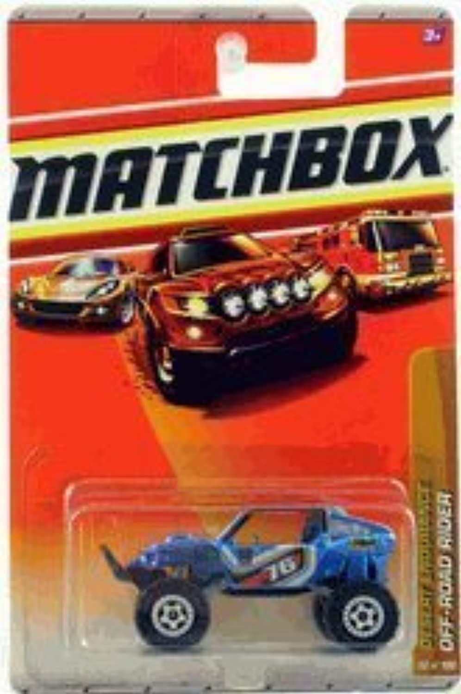 Desert Endurance Off-road Rider 92 100 by Matchbox by Matchbox
