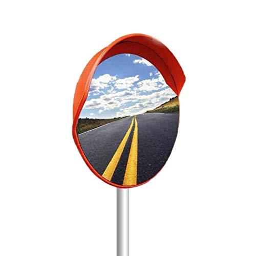 Espejo de Seguridad Vial, Adecuado para Mountain Road Espejo de Punto Ciego de Giro brusco Plástico Lente Gran Angular Interior Espejo Convexo al Aire Libre (Color: B, Tamaño: 120 cm)