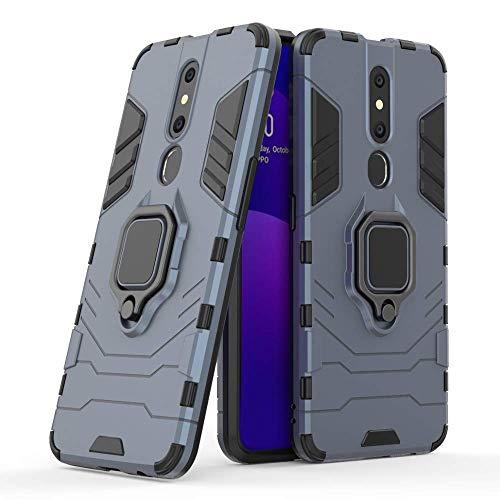 Casodon Back Cover Kickstand View Ring Holder Armor Case for Oppo F11...