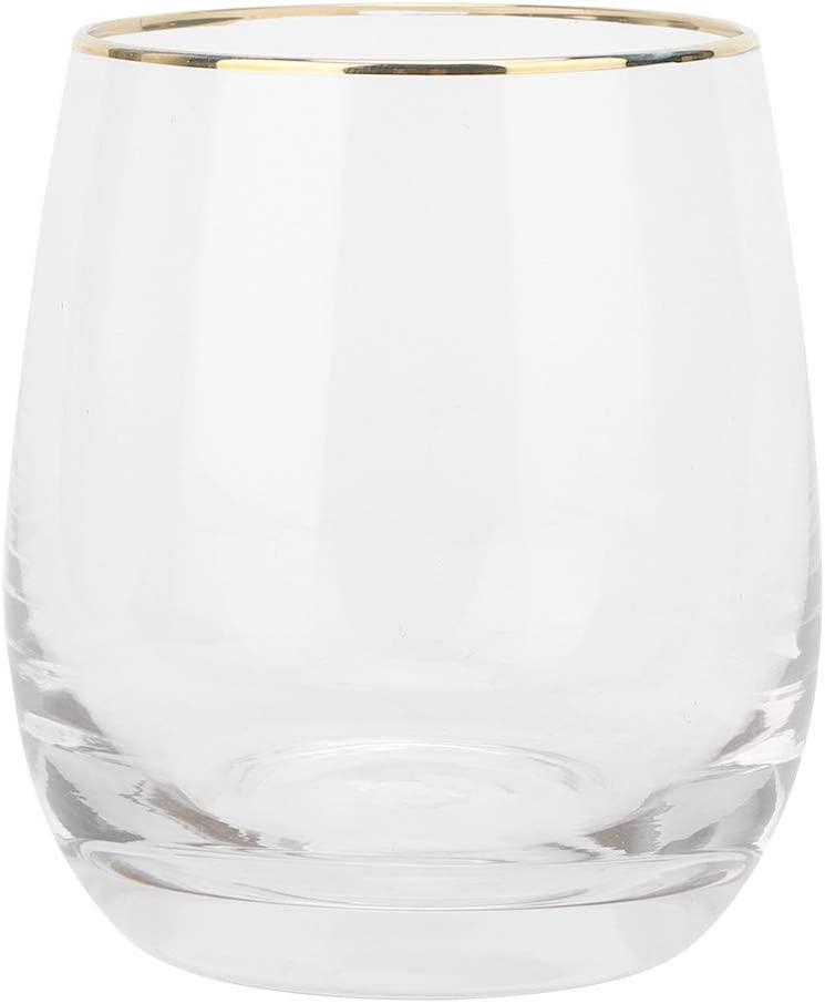 340ml Beautiful Max 75% OFF Shape Water Cup Elegant Drinking Glass Home for R Office