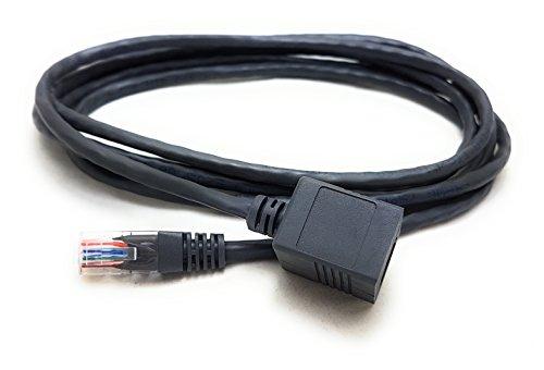 MainCore Extensor de red Ethernet de 2 m de largo RJ45 a...