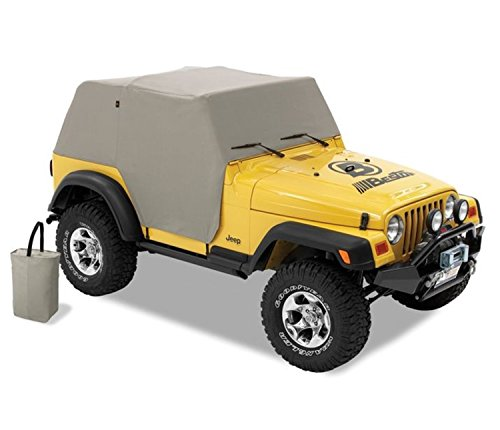 Bestop 8103709 Charcoal/Gray All Weather Trail Cover