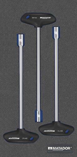 MATADOR Schraubwerkzeuge 8164 1671 MTS-R/V: Sechskant-Steckschl, 1/3: 390 x 193 mm