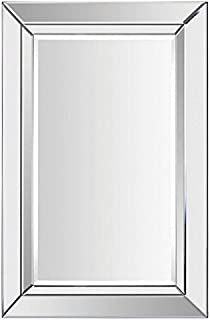 Ren-Wil MT1286 Aura Wall Mount Mirror by Kelly Stevenson and Jonathan Wilner, 35 by 24-Inch