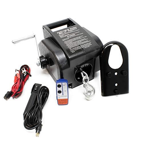 Torno Cable eléctrico 12V Cabrestante W