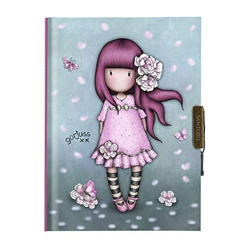 Santoro Gorjuss 577GJ16 Mi Diario - Cherry Blossom
