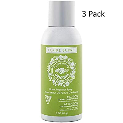 Claire Burke Original Home Fragrance Spray 3OZ-(Bundled with Pearsons Stain Remover) 3 Pack