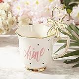 EURYTKS Porcelain Tea Sets European flower ceramic English afternoon Tea sets Coffee Cup Set High grade Coffeeware Set Black Tea Cup Set Drinkware Gift (Color : Pink)