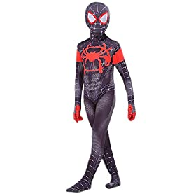 Kids Spider-Verse Cosplay Costume with Seperated Mask