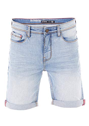 riverso Herren Jeans Shorts RIVUdo Kurze Hose Regular Fit Denim Short 99{3afbf22ac15b2a388ce54b54d03f09b98721a6004634ba90b86f03f352541360} Baumwolle Bermuda Grau Hellblau Blau w30 w31 w32 w33 w34 w36 w38 w40, Größe:W 32, Farbe:Light Blue Denim (L139)