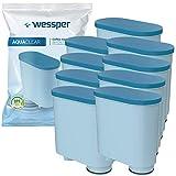 Wessper Filtro de agua antical compatible con Saeco AquaClean...