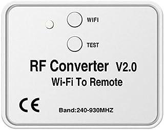 Exanko Universele WiFi Schakelaar Afstandsbediening 433 MHz WiFi naar RF Converter Multi Frequentie Rolling Code Garage De...