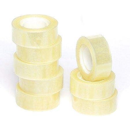Idena Transparent Adhesive Tape 19 mm x 33 mm Pack of 8