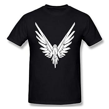 Logan Paul Maverick Summer Classic Men s Fashion T-Shirt Short Sleeve Print T-Shirt Black