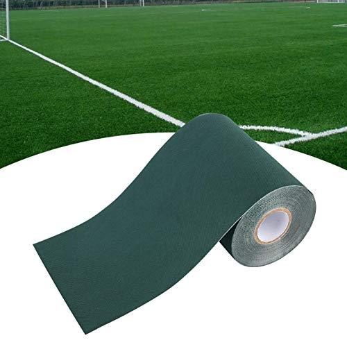 Konstgjord Lawn Tape Lawn Mat Rug Tape Grass Tape för Grassmatta(green, black)