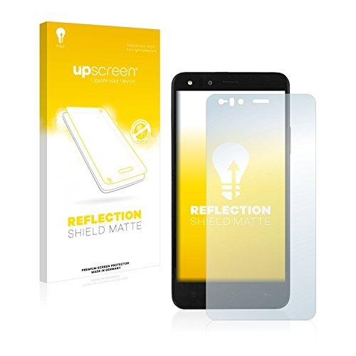 upscreen Entspiegelungs-Schutzfolie kompatibel mit Medion Life P5004 2015 (MD 98831) – Anti-Reflex Bildschirmschutz-Folie Matt