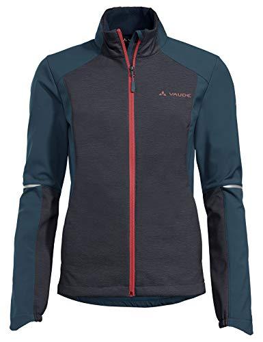 VAUDE Damen Women's Wintry Jacket IV Jacke, Steelblue, 38