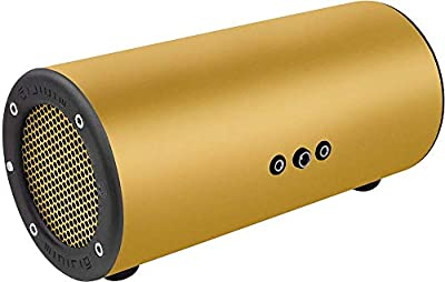 MINIRIG Subwoofer Portable Rechargeable Bass Speaker - 80 Hour Battery - Gold from Pasce Ltd