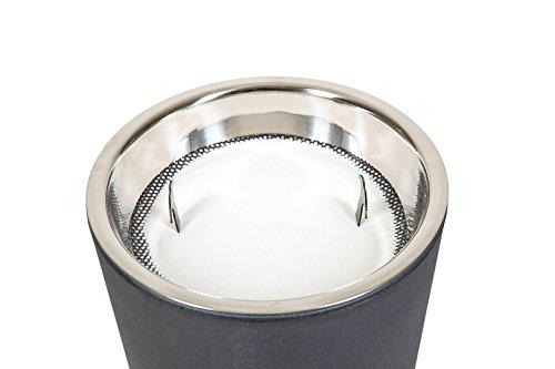 STARFIVE Posacenere per Esterno Luxury Nero - portacenere Ingresso da Terra