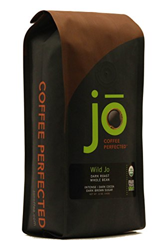 WILD JO: 12 oz   Dark French Roast Organic Coffee  ...