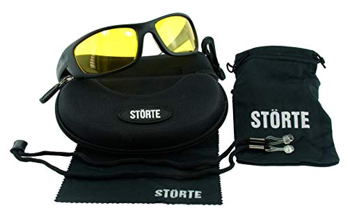 """STÖRTE """"Durchblick"""" Polarisationsbrille - Anglerbrille - Polbrille mit TR90 Kunststoff Rahmen und polarisierten Gläsern - 100% UV-Schutz"""
