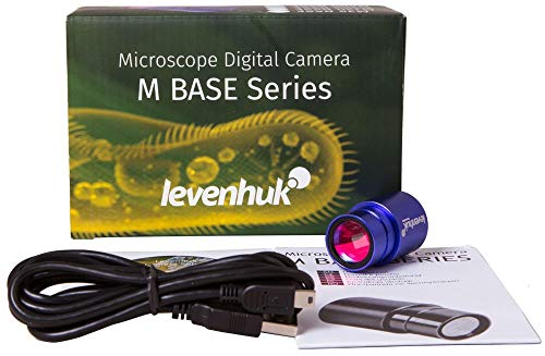 Levenhuk M300 Base Digital Camera for Microscopes, Comes with Necessary Software (Compatible with Mac, Linux and Windows)