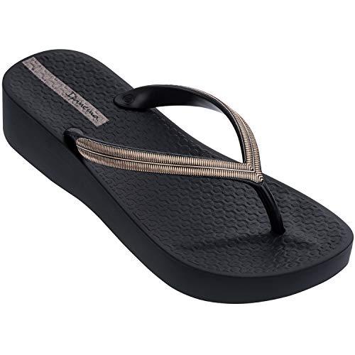 Ipanema - Sandalias de malla para mujer, color negro