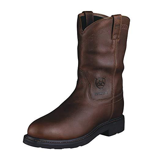 ARIAT Men's Sierra Waterproof Steel Toe Work Boot Brown