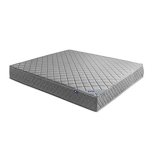 Matratze - Einzelne einfache und stilvolle Möbel Schlafzimmer Matratze,Ergonomiemodulen,Unabhängige Zylinderfedern kombiniert,atmungsaktiv,Grau (120 x 200 x 20 cm)