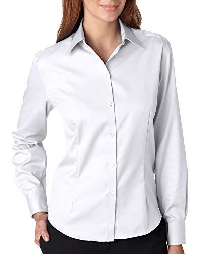Van Heusen Ladies Long Sleeve Non Iron Pinpoint...