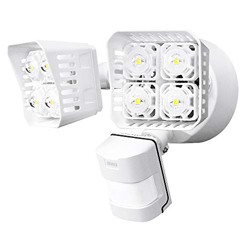 SANSI LED Security Motion Sensor Outdoor Lights, 36W (250W Incandescent Equivalent) 3600lm, 5000K...