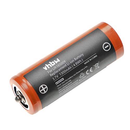 vhbw batería compatible con Braun Silk Epil 7 7181 (5377), 7 7281 (5377), 7 7381 (5377), 7 7681 (5377) afeitadora cortadora de pelo (1300mAh, Li-Ion)