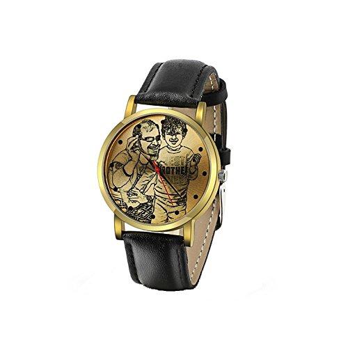 Regalos Personalizados para el Día del Padre/Regalos para el Día de la Madre - Relojes de Acero Inoxidable de Diseño de Moda con Relojes de Pulsera con Grabado Fotográfico Reloj Analógico